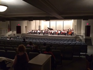 Orchestra Concert Iowa School